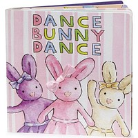Dance Bunny Dance Book by Jellycat