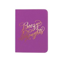 """""""Boozy Thoughts"""" Notebook"""