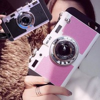 3d camera best protection iphone x 8 7 7plus iphone 6s 6 plus case personal tailor cover gift box 2