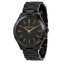NEW Michael Kors Slim Runway Unisex Quartz Watch - MK3221