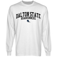 Dalton State College Roadrunners Team Arch Long Sleeve T-Shirt - White