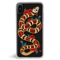 Strike Embroidered iPhone X Case