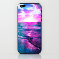 Sunset - for iphone iPhone & iPod Skin by Simone Morana Cyla