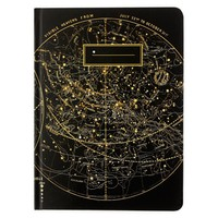 Star Chart Lined Grid Hardcover Journal