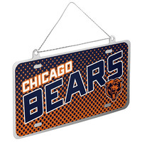 Chicago Bears Official NFL Metal License Plate Ornament