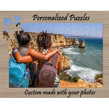 Custom Photo Puzzle | Personalized Gifts | Custom 130 Piece Puzzle
