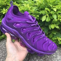 Nike Air VaporMax Plus Purple Running Shoes - Best Deal Online
