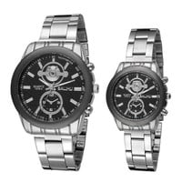 Men Women Casual Sports Watches Steel Strap Watch Best Lover Christmas Gift