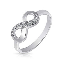 Bling Jewelry Simply Romantic Ring