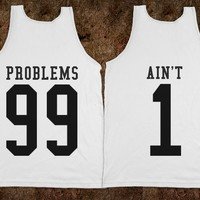 Couples 99 Problems Ain't 1 Matching Tanks