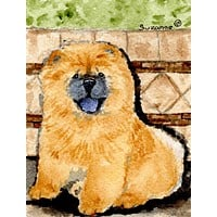 Chow Chow Flag Canvas House Size