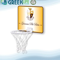 Gamma Phi Beta Hardboard Mini Basketball Goal