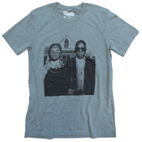 Jay & Bee - American Gothic Pop Art T-shirt Mash-Up - by American Anarchy Brand
