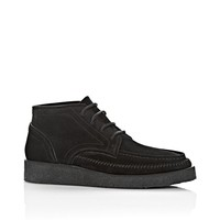 KASS LOW TOP SUEDE BOOT