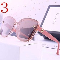 Gucci Fashion Women Summer Sun Shades Eyeglasses Glasses Sunglasses-5