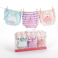Baby Cakes Set of Three Cupcake Bloomers (0-6 Months and 6-12 - $31.00 : Counting the Blessings, Cloth diapers, wet bags, personalized items, and baby and kid accessories