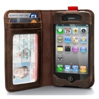 Read BookBook Leather Case for iPhone 4/4S/5