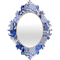 Aimee St Hill Blue Is Just A Mood Baroque Mirror