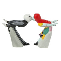 The Nightmare Before Christmas Kissing Jack And Sally Salt & Pepper Shakers