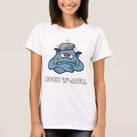 Rock And tRoll Funny Rock 'n' Roll Color T-Shirt