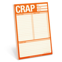 Cool Office Supplies | Crap Pad | KNOCK KNOCK