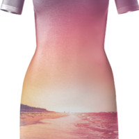 Summer - Bodycon dress created by HappyMelvin | Print All Over Me