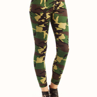 camouflage-leggings GREENBROWN - GoJane.com
