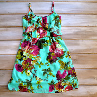 Wild Child Country Ruffle Floral Dress