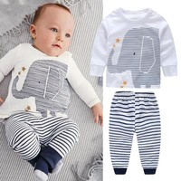 Baby Boy Elephant Clothing Set by Baby in Motion