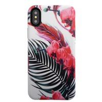 iPhone XS / X Case - Wild Orchid