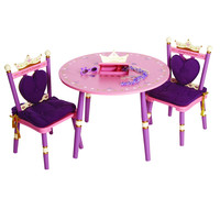 Levels of Discovery Princess Table & 2 Chair Set - LOD20008S