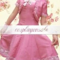Short Sleeves Lace Cotton School Lolita Dress [T110368] - $71.00 : Cosplay, Cosplay Costumes, Lolita Dress, Sweet Lolita