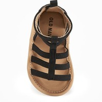 Sueded Gladiator Sandals for Baby | Old Navy