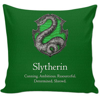 Slytherin Couch Pillow