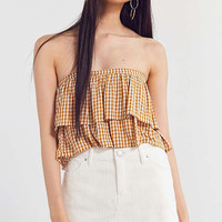 BDG Frayed Corduroy Mini Skirt   Urban Outfitters