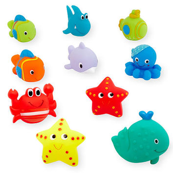 Babies R Us Bath Squirtees - 10 Pack