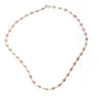 Genuine Pink Freshwater Pearl Necklace