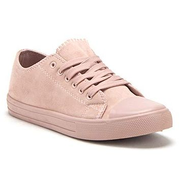 Women's Belle-1 Chuck Athleisure Sneakers Casual Lace Up Tonal Fashion Kicks Shoes