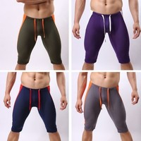 Casual s Sports Running Training Tights Breathable Fitness Shorts   Elastic Shorts Asian/Tag Size S-XL WD0060 bags