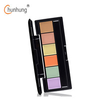 2016 New Pro Concealer Palette of Corrective Face Cosmetic Makeup Neutral Corrector  6 Color Professional Foundation Palette