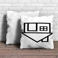 The Neighbourhood Logo Pillow | Aneend