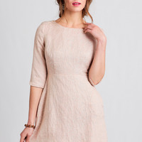 Take The Cake Textured Dress