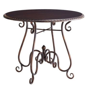 Ashmont Bistro Table - Rubbed Black