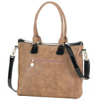 Essential Brown Work-to-Weekend Tote Bag Designer Fashion Accessories