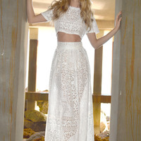 Cambria Lace Wedding 2p Outfit