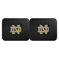 "Notre Dame Fighting Irish NCAA Utility Mat (14x17"")(2 Pack)"""