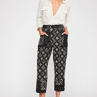 Imani Printed Cotton Pants