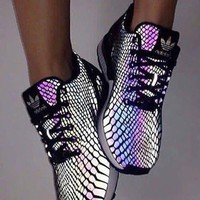 Chameleon Reflective Sneakers Sport Shoes