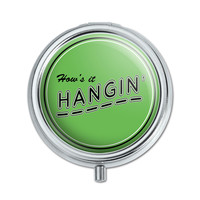 How's It Hangin' Casual Hello Greeting Pill Box