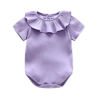 Baby Rompers Summer Baby Girl Clothing Sets 2017 Baby Girl Clothes Fashion Newborn Baby Clothes Roupas Bebe Infant Jumpsuit